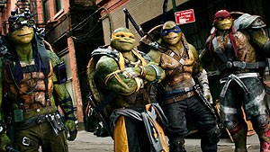 Teenage Mutant Ninja Turtles: Out of the Shadows - 3D