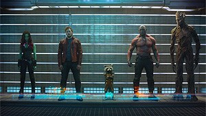 3D - Guardians of the Galaxy
