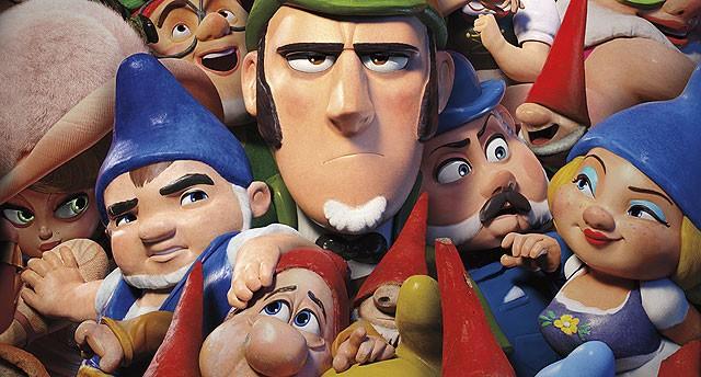 Mesterdetektiven Sherlock Gnomes - DK tale - 3D