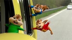 Alvin og de frække Jordegern på farten - DK tale - 2D