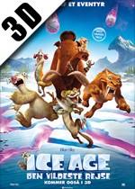 Ice Age: Den Vildeste Rejse - 3D - DK tale