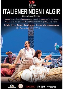 OPERAKINO 2018: Italienerinden I Algier - LIVE (Barcelona)