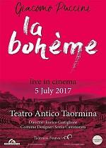 OPERAKINO 2017: La Bohème - Taormina
