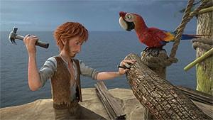 Robinson Crusoe - Dansk tale - 2D
