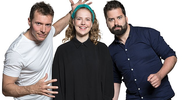 Stand-up 2017 - Thomas Hartmann, Molly Thornhill, Anders Grau
